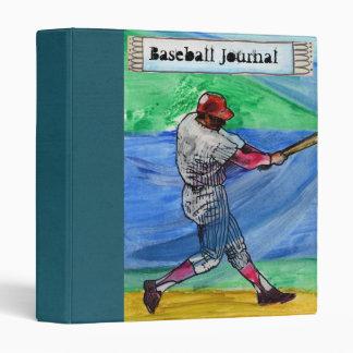 dads baseball journal 3 ring binder