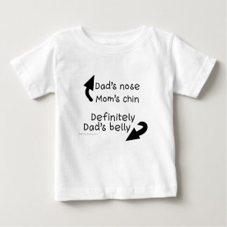 Dads Belly Infant  Shirt