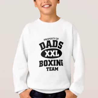 Dads boxing team sweatshirt