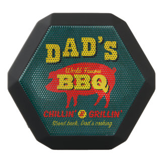 Dad's Cooking Black Bluetooth Speaker