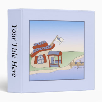 Dad's Fishing Shack Vinyl Binder