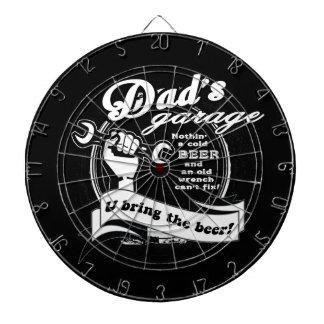 Dad's Garage Bring Beer Dartboard