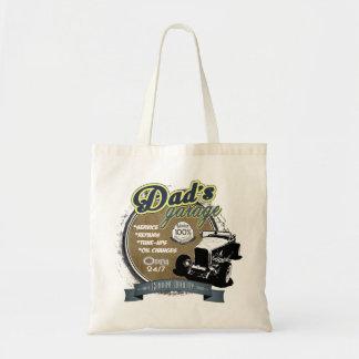 Dad's Garage in Color Tote Bag