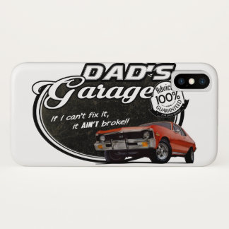 Dad's Garage Nova Case-Mate iPhone Case