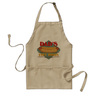 Dad's Hot Dogs Standard Apron