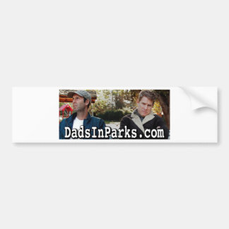 Dads In Parks - Jamie & Jeff Bumper Sticker