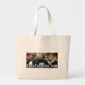 Dads In Parks - Jamie & Jeff Large Tote Bag