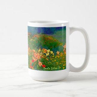 Dad's Lilies 2 Mug