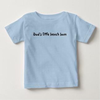 Dad's little beach bum baby T-Shirt