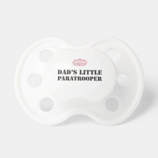 DAD'S LITTLE PARATROOPER PACIFIERS