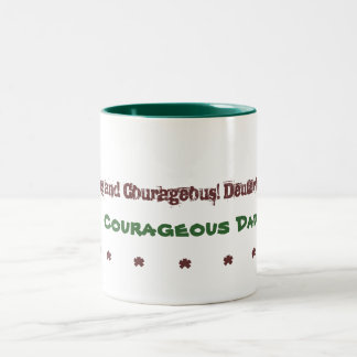 Dads Mug Courageous Dad
