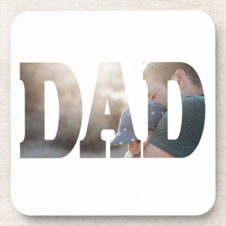 Dad's Picture NEW Template Coaster