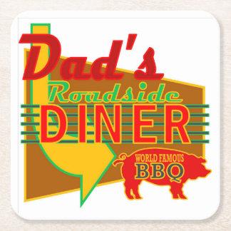 Dad's Roadside Diner Coasters