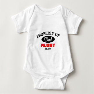 Dads rugby team baby bodysuit
