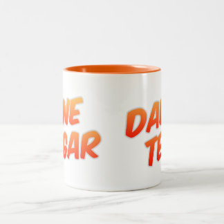 Dad's Tea One Sugar Two Tone Orange Mug