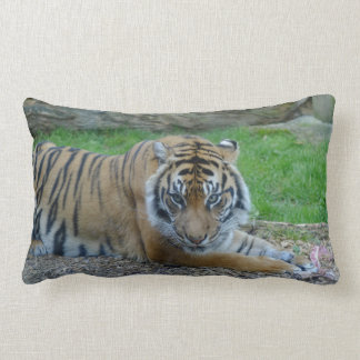 Dad's Tiger Lumbar Pillow
