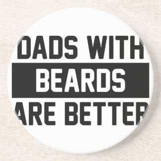 Dads with Beards Coaster