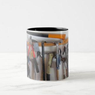 Dad's workshop Two-Tone mug