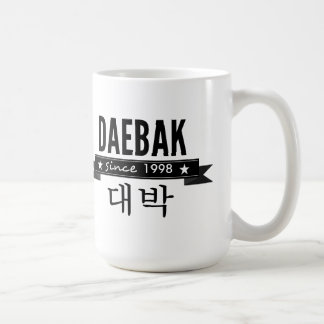 Daebak is Korean for Awesome Coffee Mug