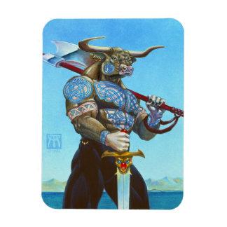 Daedalus Minotaur of Crete Magnet