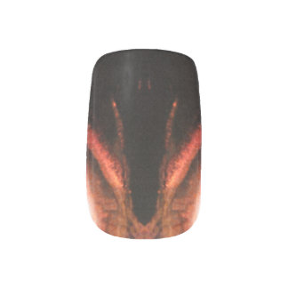 Daemon Flame Nail art