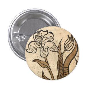 Daffodil 1 Inch Round Button