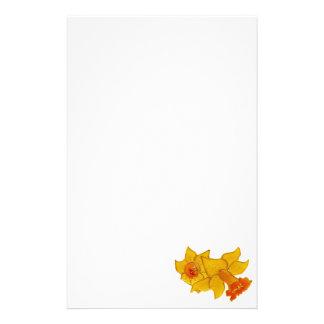 Daffodil Custom Stationery