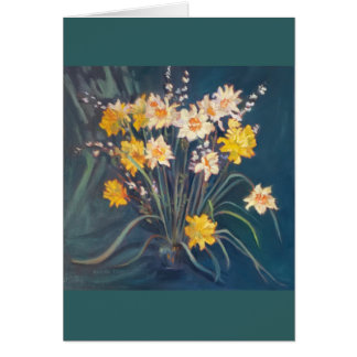 Daffodil Display Card