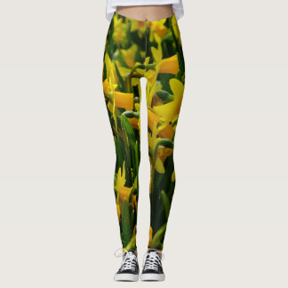 Daffodil Family Leggings