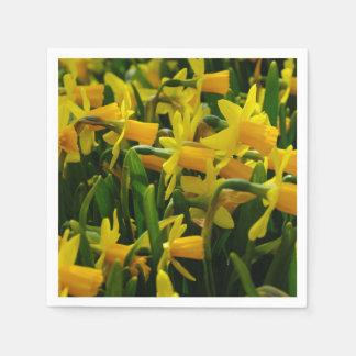 Daffodil Family Paper Napkin