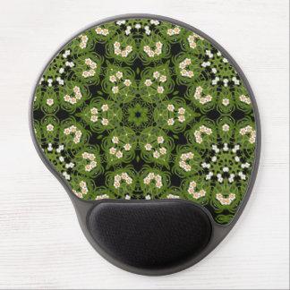 Daffodil Floral Geometric Mousepad