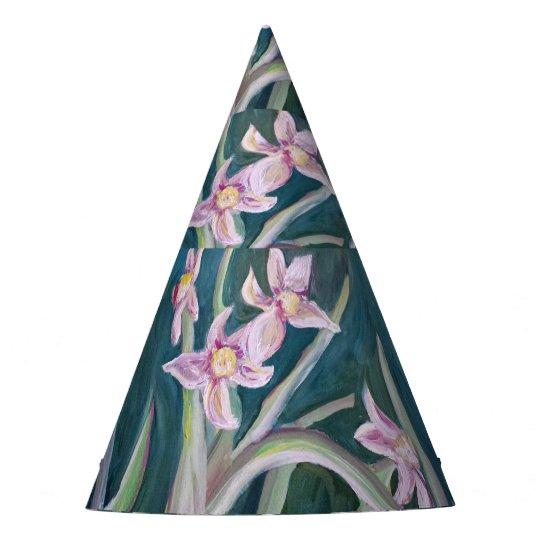 daffodil flower party hat
