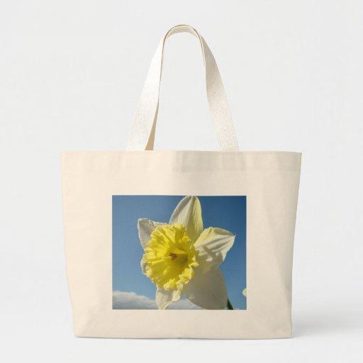 Daffodil Flowers 11 TOTE BAG BEACH BAG CANVAS