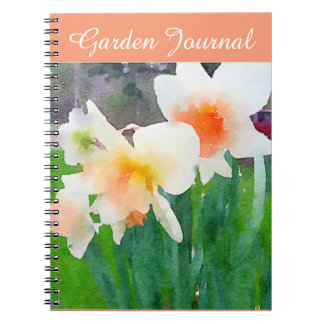 Daffodil Garden Journal Spiral Notebooks