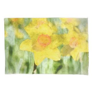 Daffodil in Spring Pillowcase