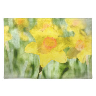 Daffodil in Spring Placemat