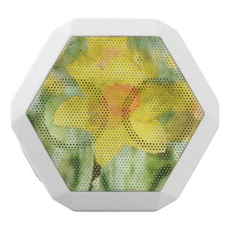Daffodil in Spring White Bluetooth Speaker