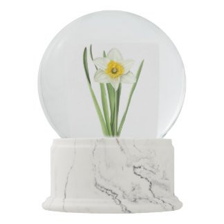 Daffodil in the Snow Snow Globe