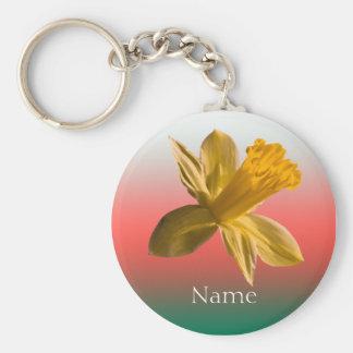 Daffodil Keychain
