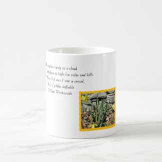 Daffodil Poetry Coffee Mug