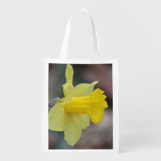 Daffodil Reusable Grocery Bag