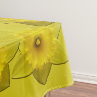 Daffodil Tablecloth Easter Flowers Tablecloth