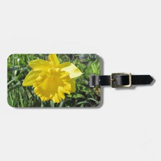 Daffodil Yellow Bag Tag