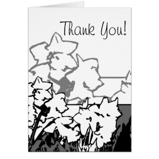 daffodilnotecard, Thank You! Card