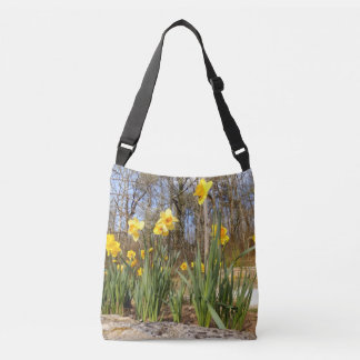 Daffodils at Easter Cross Body Bag