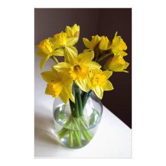Daffodils Custom Stationery