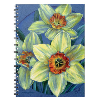 Daffodils fine art notebook