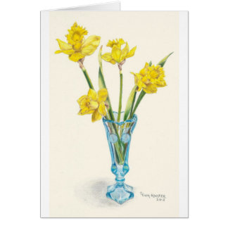 Daffodils for Spring Card