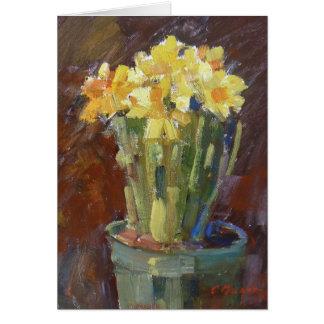 """Daffodils"" Greeting Card"