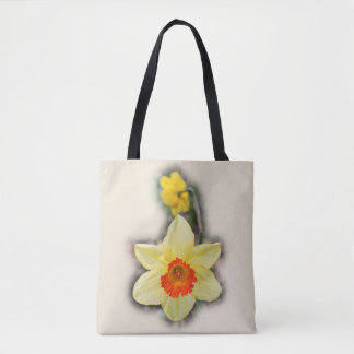 Daffodils in the Woods Tote Bag